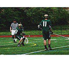 camden catholic lacrosse 320 0 expressionist Photographic Print