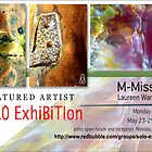 M-Mission, Laureen Warrington, Solo Exhibition Banner by solo-exhibition