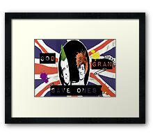 God Save One's Grandma Framed Print