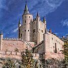 The Alcazar of Segovia by Nigel Fletcher-Jones