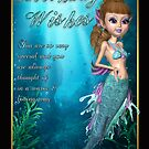 Mermaid Birthday Card by Moonlake