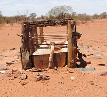 Outback stock trough by outbackwriter