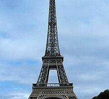 Classic Eiffel Tower by Margaret Stevens
