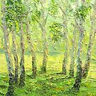 Treatment of Spring Avitaminosis / 2011 / Oil on canvas by Ivan KRUTOYAROV