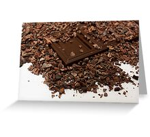 cocoa beans Greeting Card