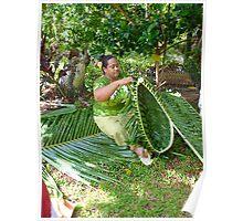 Tongan Craftsmanship Vavau Poster