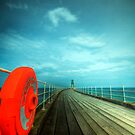 Whitby Pier by Paul Thompson Photography
