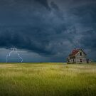 Thunderstorm on the Prairie by Randall Nyhof