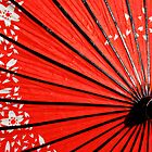 The Red Parasol by Margaret Goodwin