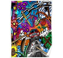 """Legal Pad Doodles #2"" Poster"
