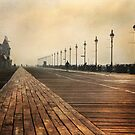 Boardwalk at Dawn by Lori Deiter