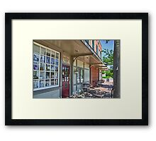 Old Fashioned Drug Store Framed Print
