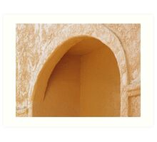 Arch With Protruding Corner Art Print