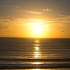 Sunrise - Pacific Beach, Mooloolaba, QLD by Sally Werner