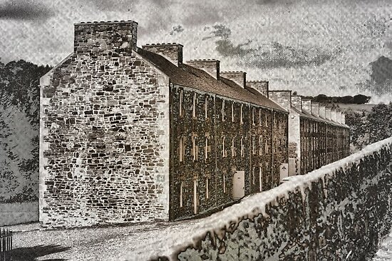 Tenements on the Clyde by Larry Lingard-Davis