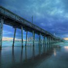 Nightfall at the Pier by Lori Deiter