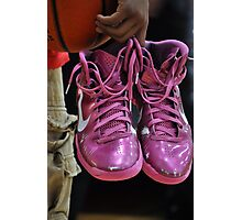 Pink Shoes! Photographic Print