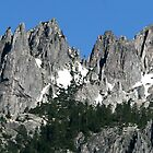Majestic Crags by Lorrie Davis