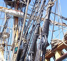 Kalmar Nyckel Rigging - Lewes, DE by searchlight