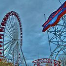 Navy Pier Ferris Wheel by Stephen Burke