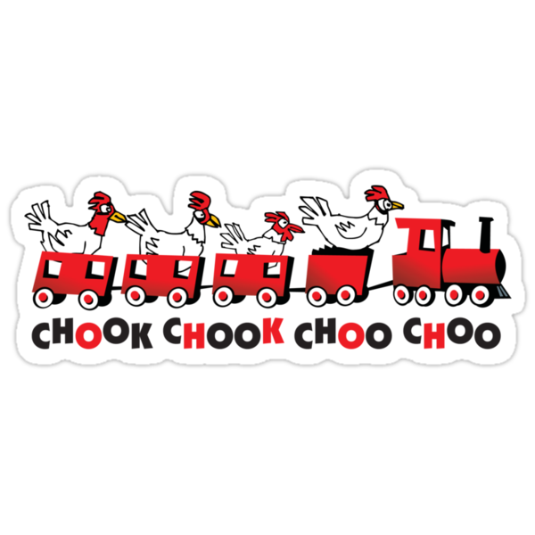 chicken choo choo by Matt Mawson