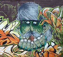 Neuman Street wall by Neil Mouat