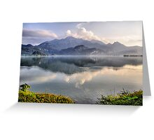 Lake and Mountains II Greeting Card