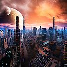 Futuristic and Alien Cities  by SpinningAngel
