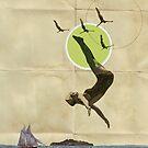 Collage Illustration Calendar by stibou