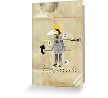 The skiproping doll Greeting Card