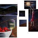 Lavender Fields by Ken Eccles