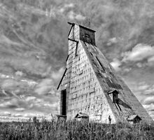 McIntyre Headframe Gold Mine by Mark Clement