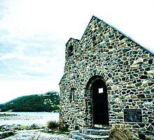 Church of the Good Shepard : Lake Tekapo : NZ by webgrrl