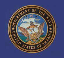 Seal of the US Navy by Thad Zajdowicz