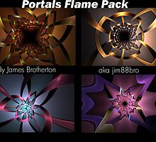 Portals Flame Pack by James Brotherton