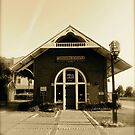 Old Railroad Depot by Caren