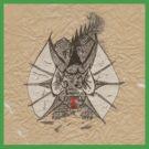 Ink Dragon by TheSavageLegend
