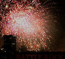 Battle Rock Firework Mosaic by BattleRock