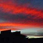 Crimson ribbon sky by Karen01