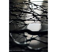 METALLIC ABSTRACT # 090 Photographic Print
