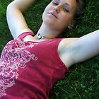 Kate in the Grass by Jenny Webber