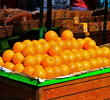 Orange Stand by Richard Earl
