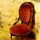Velvet Chair In Basement by SuddenJim