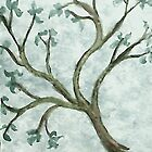 Tree Branch #2, watercolor by Anna  Lewis