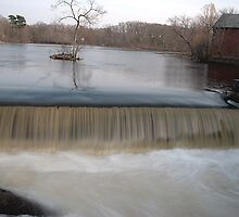 Faulkner Mills Waterfall II by SPPhotography