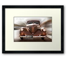 Willies Zoom © Vicki Ferrari Photography  Framed Print