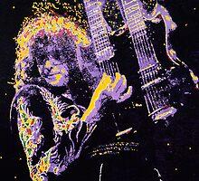 Jimmy Page by Barry Novis