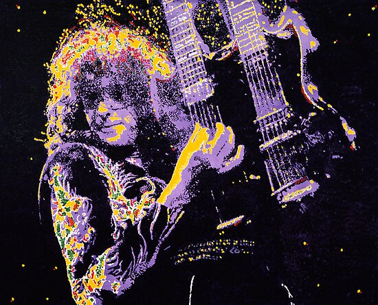 Jimmy Page by Barry Novis