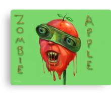 Zombie Apple Canvas Print