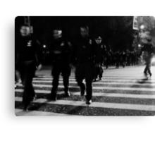 one city... 34,000 cops Canvas Print